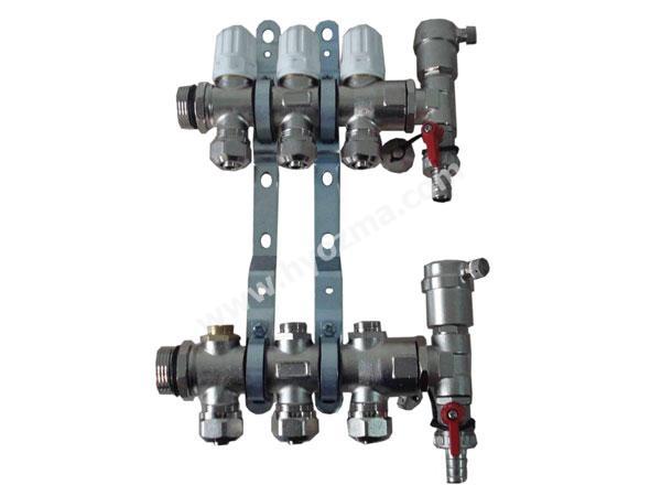 3-Branch Brass Manifold set-1