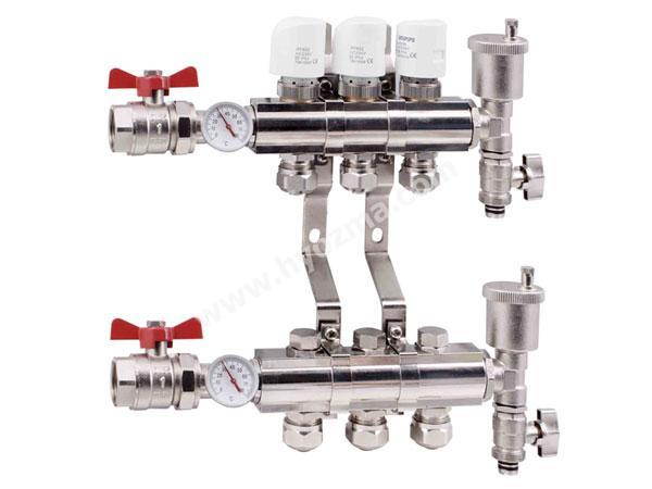 3-Branch Brass Manifold Set-3