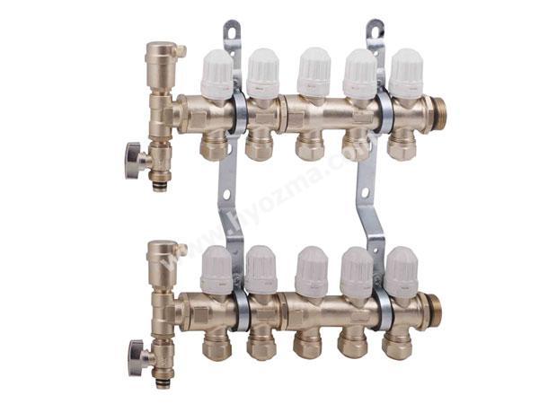 5-Branch Brass Manifold Set-1