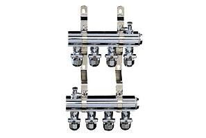 4-Branch Brass Manifold Set-2