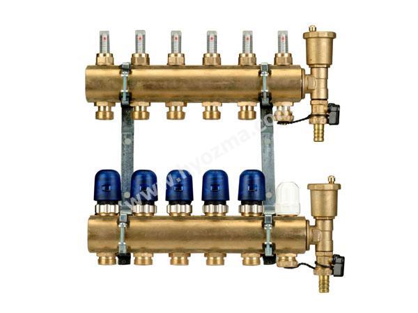 6-Branch Brass Manifold Set-1